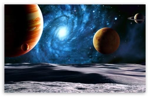 Download Planets UltraHD Wallpaper