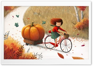 Beautiful Autumn Illustration