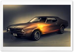 Mustang Hot Rod Car