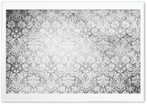 Vintage Pattern Black And White