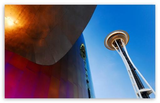 Download Space Needle, Seattle, WA UltraHD Wallpaper