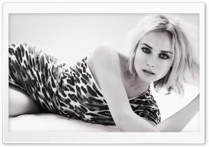 Diane Kruger Black And White...