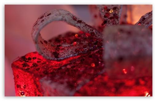 Download Red Gift UltraHD Wallpaper