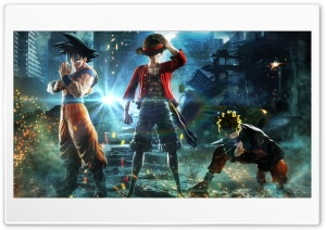 Jump Force - Goku, Naruto, Luffy
