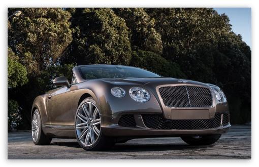 Download Bentley Continental GT Speed Convertible UltraHD Wallpaper