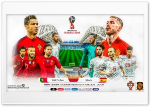 PORTUGAL - SPAIN WORLD CUP 2018