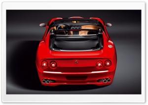 Red Ferrari Convertible 17