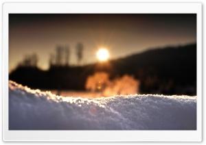 Snow In Sunlight