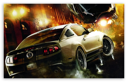 Download Need For Speed The Run - Shelby UltraHD Wallpaper