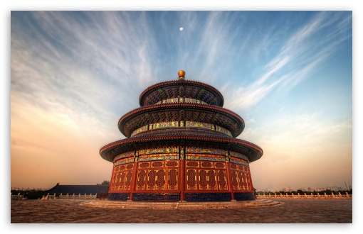 Download The Temple Of Heaven China UltraHD Wallpaper