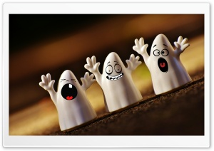 Cute Ghosts, Halloween