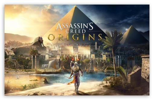 Download Assassins Creed Origins 2017 8K UltraHD Wallpaper
