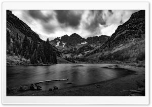 Elk Mountains, Maroon Lake,...