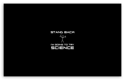 Download Stand Back UltraHD Wallpaper