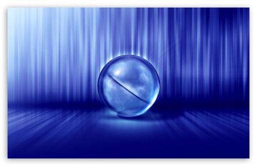 Download Blue Galaxy UltraHD Wallpaper