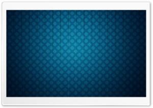 Pattern Glass Blue