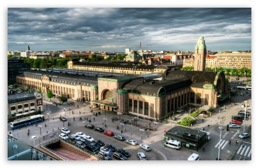 Download Helsinki-Central Railway Station UltraHD Wallpaper