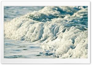 Sea Wave Close-Up