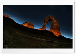 Arch Rock Night