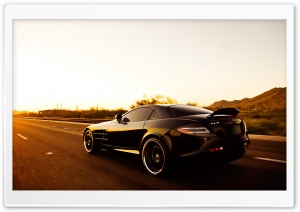 Mercedes Mclaren SLR Speed