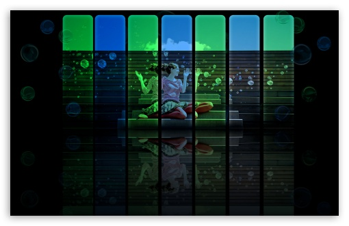Download Burbujas UltraHD Wallpaper