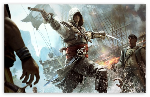 Download Assassins Creed IV Black Flag Edward Kenway UltraHD Wallpaper