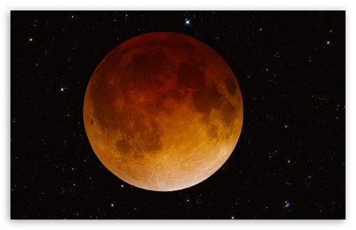 Download Total Lunar Eclipse UltraHD Wallpaper