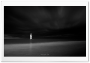 A view of Talacre Lighthouse,...