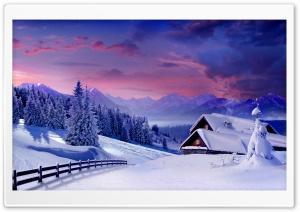 Houses Under Snow