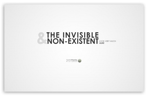 Download Invisible and Non-Existent UltraHD Wallpaper