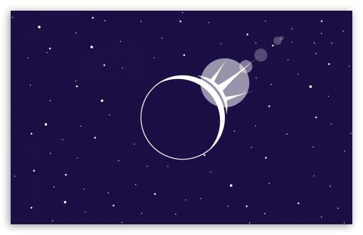 Download Eclipse Vector Art UltraHD Wallpaper