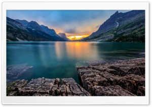 Saint Mary Lake USA