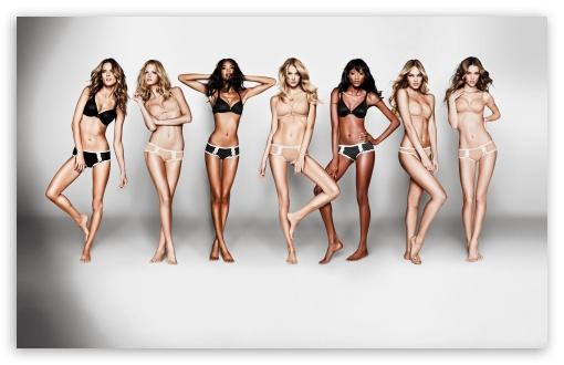 Download Victoria's Secret Models UltraHD Wallpaper