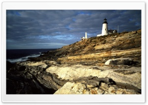 Sunrise Light On Pemaquid...