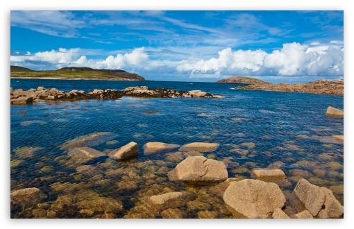 Download Atlantic Coast, Cruit Island, Donegal, Ireland UltraHD Wallpaper