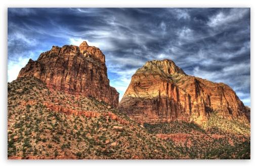 Download Desert Cliff UltraHD Wallpaper