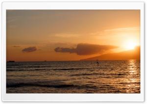 Beach, Lahaina, Maui, Hawaii...