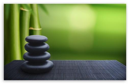 Download Zen Stones Background UltraHD Wallpaper