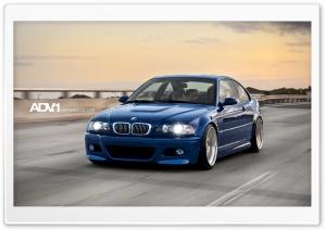 ADV.1 Blue BMW M3 e46