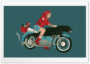 Cool Red Riding Hood