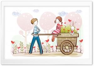 Cute Valentine Couple,...