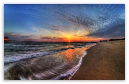 Download April Sunrise UltraHD Wallpaper