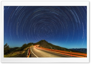 Star Trails, Mountain Road