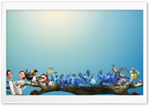 Rio 2 All Characters