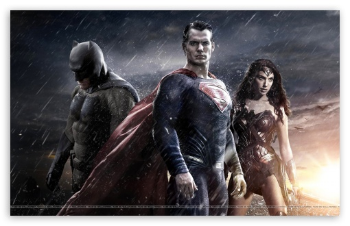 Download Batman Vs. Superman Vs. Wonder Woman UltraHD Wallpaper