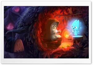 Bedtime Stories Illustration