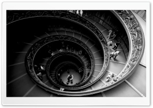 Spiral Stairs Of The Vatican...