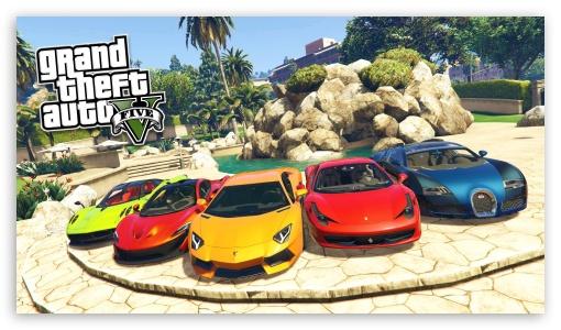 Download Grand Theft Auto V Cars UltraHD Wallpaper