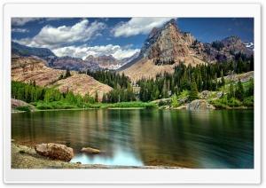 Mountain Scenery Long Exposure