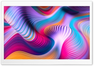 Modern Abstract Colorful Art